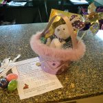 """how-to"" make a cool Easter scavenger hunt . . . what the easter bunny did!"