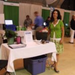 At the Living Green Expo