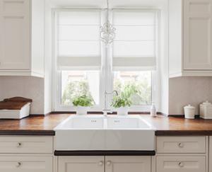 decluttered kitchen sink