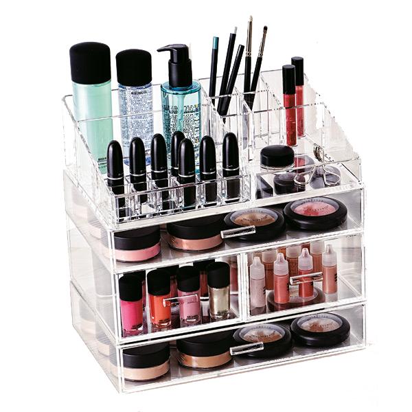 organized cosmetics