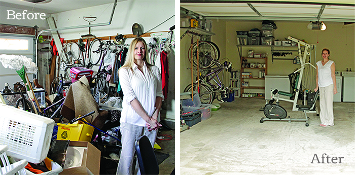 great garage rescue before & after