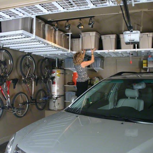 monkey bars overhead storage