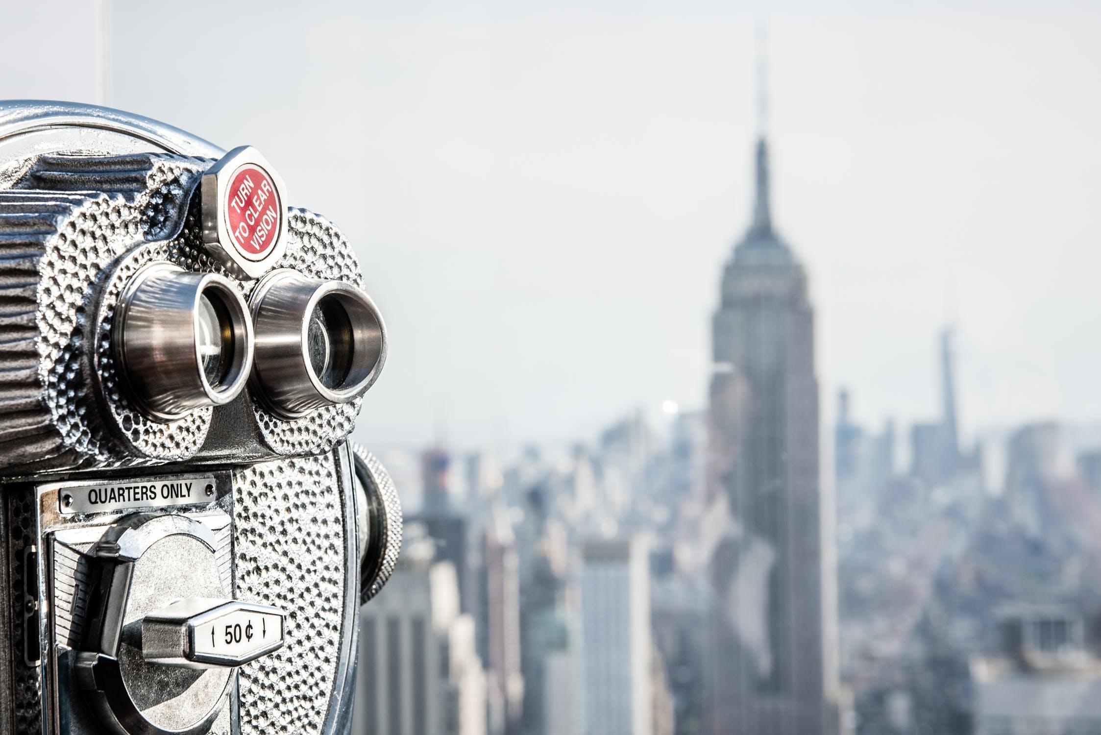 new york city viewfinder