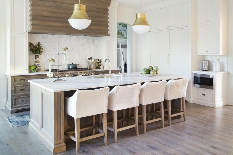 custom modern kitchen with island