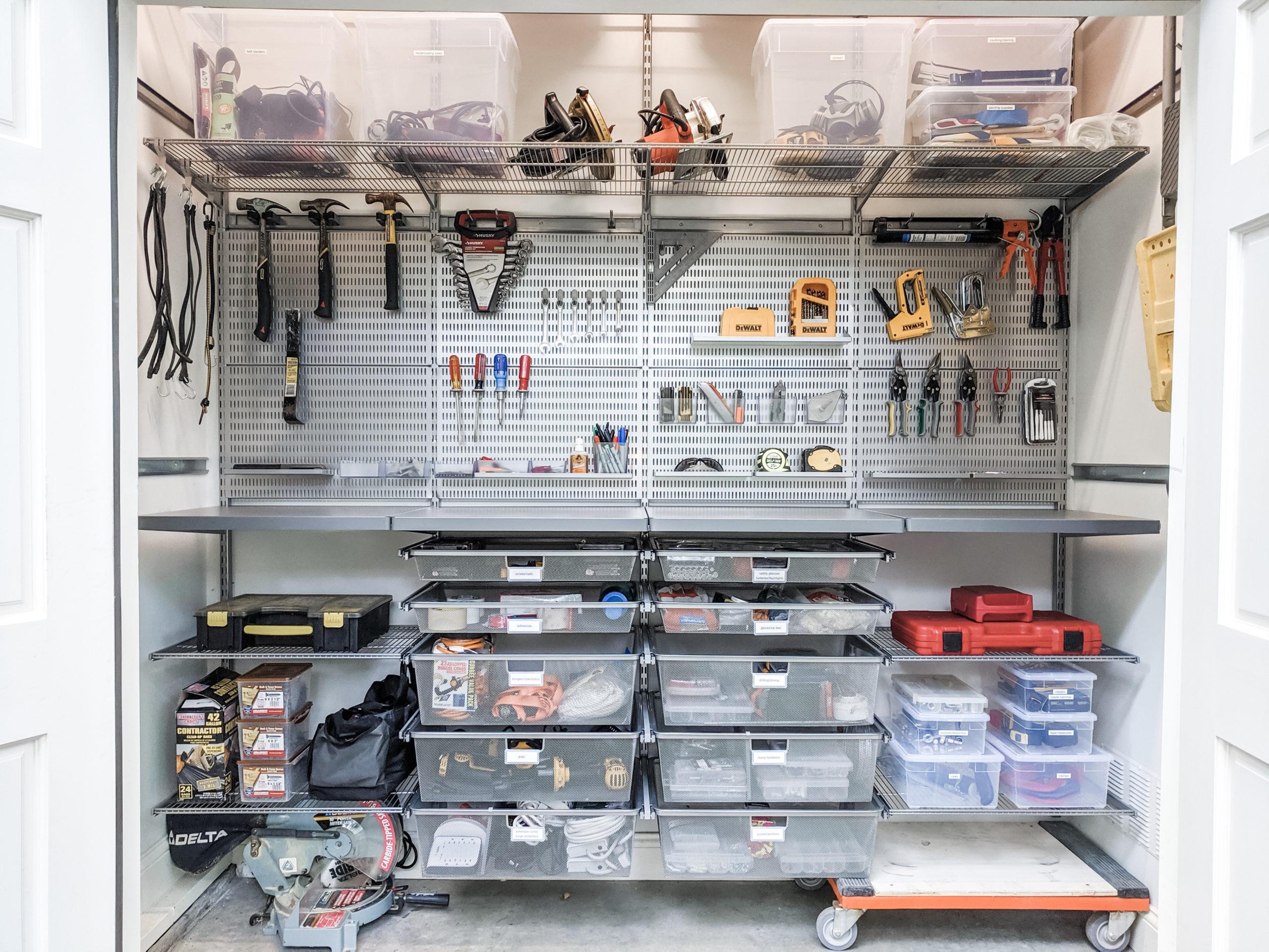 Spring Garage Organization